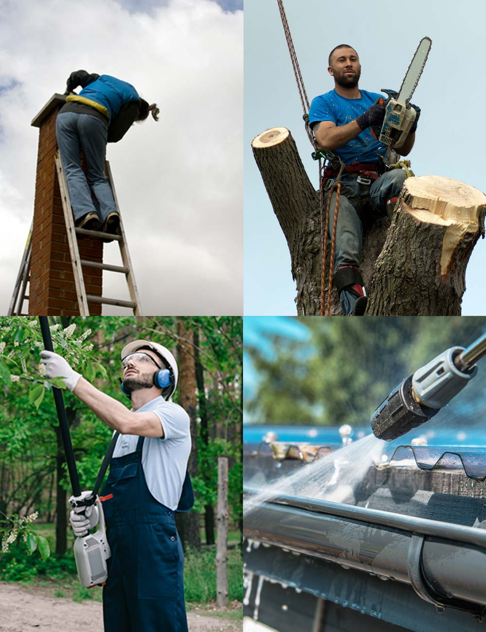 Bats R Us provides habitat modification maintenance for chimney caps, cutting trees, and clearing brush.